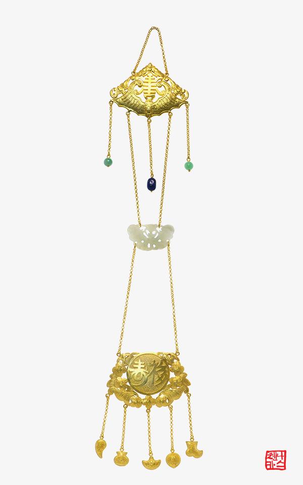 1476112 - [나스첸카 NASCHENKA] 나스의 행복 전통 장신구 [실버 수공예 은제 노리개]