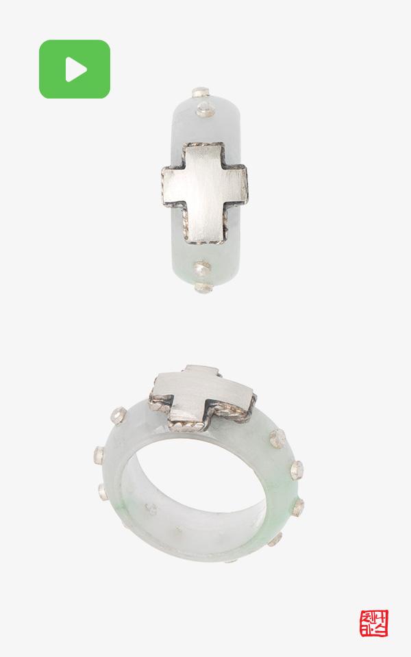 1495710 - [NASCHENKA] 기도 묵주 옥 가락지 Rosary ring