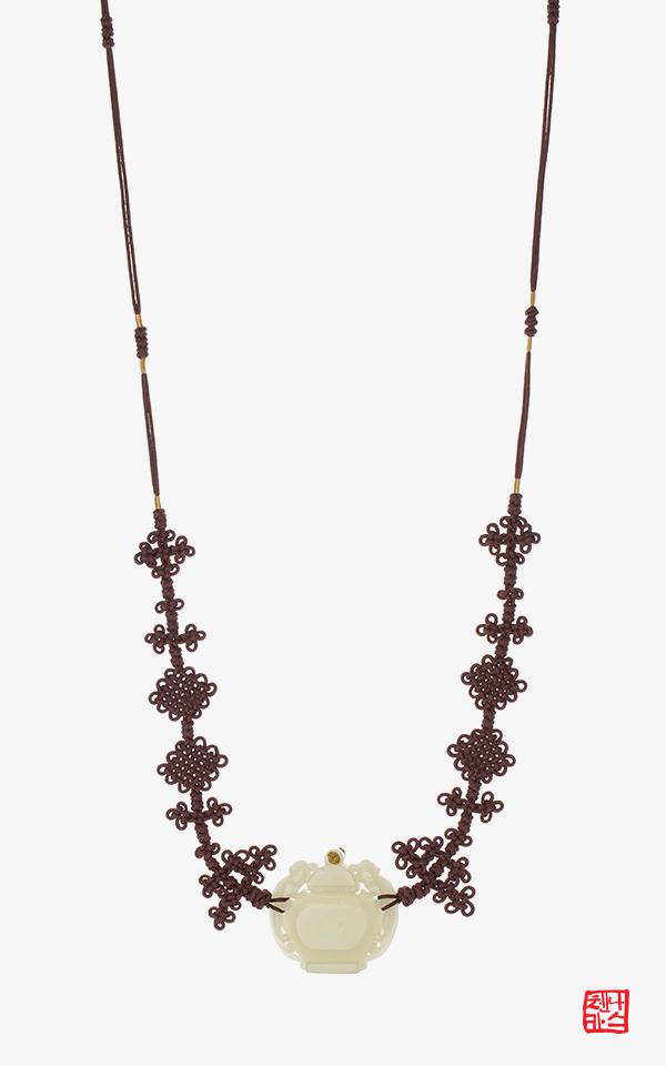 1507159 - [나스첸카 NASCHENKA] 실크와 백옥으로 만든 나스첸카 NASCHENKA 혜여 쾌자띠 쾌자끈 2