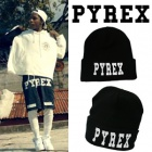 ★PROMPT DELIVERY★South Korean popular item ★ PYREX Print beanie