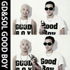 ★DAY SHIPPING★GD & Teyankorabo new song [GOOD BOY] items were worn in MV! GOOD BOY / short-sleeved T-Shirts[BIGBANG][GOODBOY]