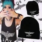 Popular hat ★ BOY LONDON STYLE Eagle PRINT BEANIE