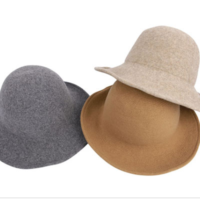 [Autumn of Daily & Street Items]Stylish hat design that tinged the basic roundness of warm feeling