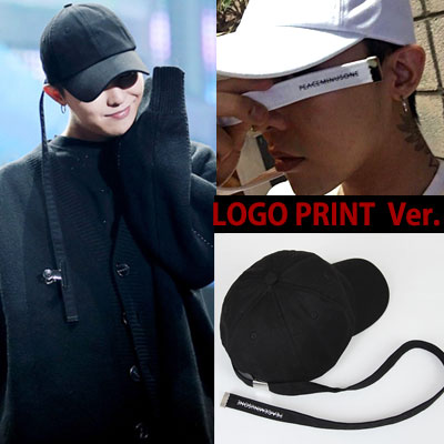 ★65%OFF SALE★Prompt delivery★SUPER LONG STRAP BALL CAP LOGO PRINT VER./G-DRAGON STYLE