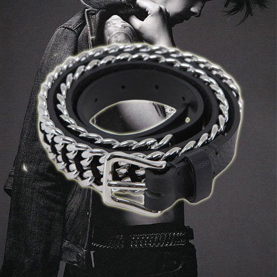 Casual style to the point FASHION ITEM  . B @ L **** st Chain Belt (2size)