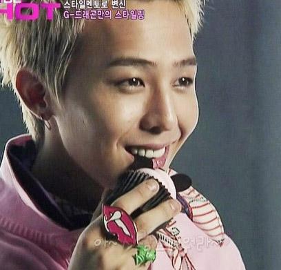 Big Bang Ji ring | Full lips ring that G- Dragon wore
