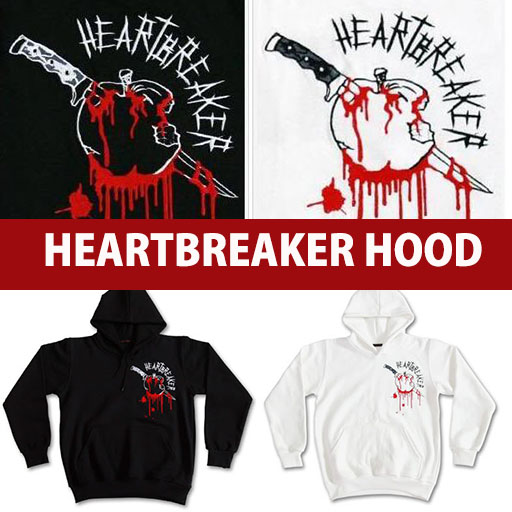 ★SALE★ G-DRAGON HEART BREAKER PULLOVER HOODED / ONE OF A KIND / GIYONGCHY