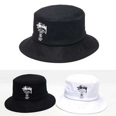 BTS st) CALLI LOGO POINT SIMPLE BUCKET HAT