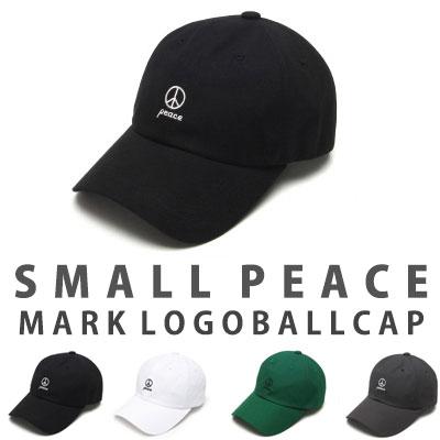PEACE MARK EMBROIDERY BALL CAP