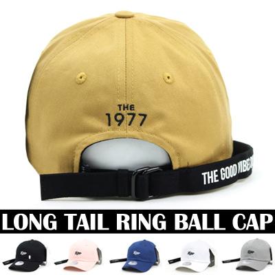 LONG TAIL RING BALL CAP(6COLORS)