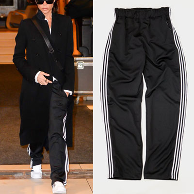 ★35%OFF SALE★★PROMPT DELIVERY★[UNISEX] WHITE 3LINE TAPE POINT TRACK PANTS