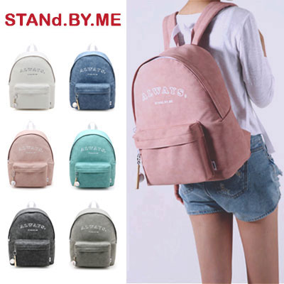 【STANd.BY.ME】Always backpack (6color)