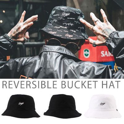 【FLIPPER】REVERSIBLE BUCKET HAT(3color)