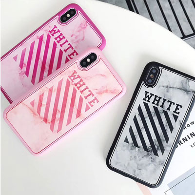 WHITE LOGO POINT TOUGH CASE (3color)