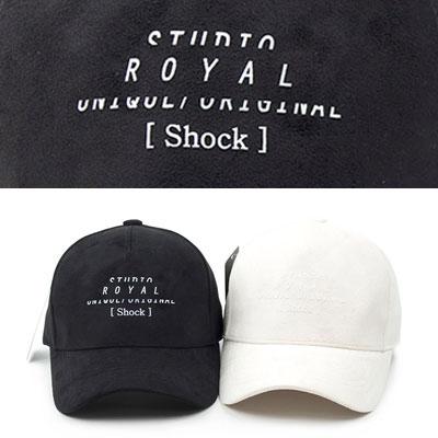 [UNISEX] ROYAL SHOCK BALL CAP (2color)