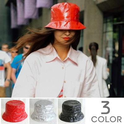 [UNISEX]HIPSTER ENAMEL BUCKET HAT(3color)