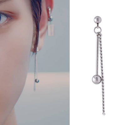 [UNISEX] NCT/AB6IX st. DROP BALL CHAIN PIERCE (3type)