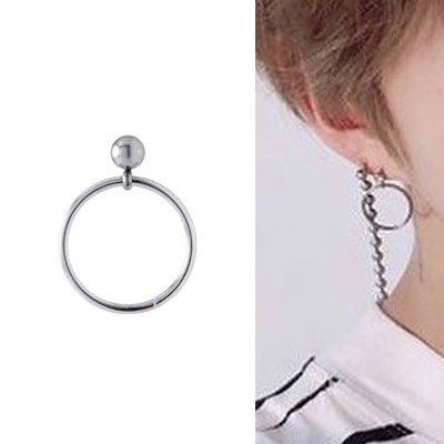 [UNISEX] A.C.E st. SIMPLE ROUND SHAPE PIERCING (3type)
