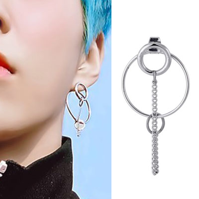 [UNISEX] EXO/Xiumin st. BIG CIRCLE ON CIRCLE PIERCE