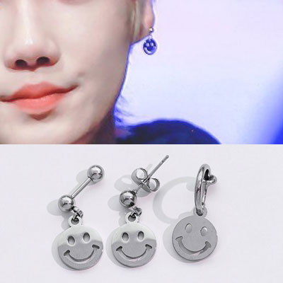 [UNISEX] THE BOYZ st. FLAT SMILE PIERCE (3type)