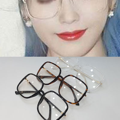 [UNISEX] IU st. GLASSES SQUARE FRAME (3color)