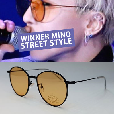 [UNISEX] Winner/mino/Songmino st. METAL FRAME SUNGLASSES (5color)