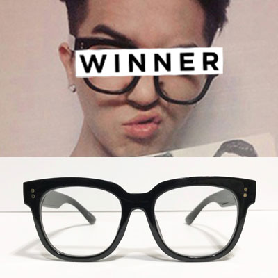 [UNISEX] WINNER MINO st. BOLD FRAME GLASSES (3color)
