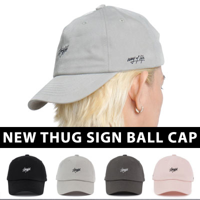 【FLIPPER】NEW THUG SIGN BALL CAP (4color)