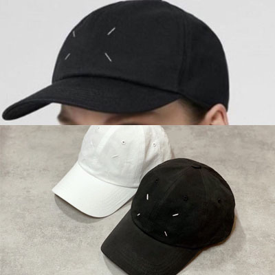 [UNISEX] STITCH POINT BALL CAP (2color)