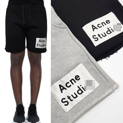 [UNISEX] STUDIOS PATCH HALF PANTS (2color 2size)