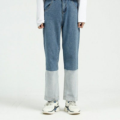 [UNISEX] TWO TONE BASIC DENIM (3size)