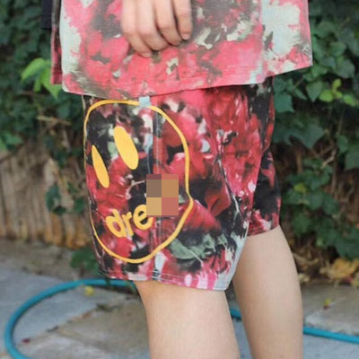 [UNISEX] SMILE FLOWER SHORTS