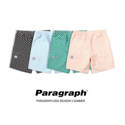[Paragraph] Dot shorts (4color)