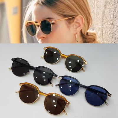 [UNISEX] ANGLE BRIDGE SUNGLASSES (4color)