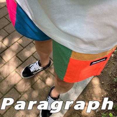 [Paragraph] COLOR BLOCK SHORTS (2color)