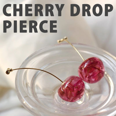 CHERRY DROP PIERCE (Pierce,Non hole pierce)
