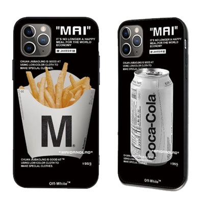 [UNISEX] COKE & FRY BLACK CASE (2size)