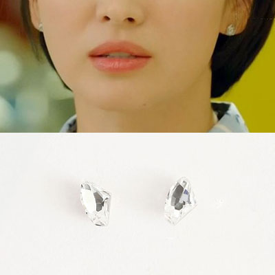 K-drama 'Encounter' Song Hyekyo st. CLEAR CUBIC PIERCE