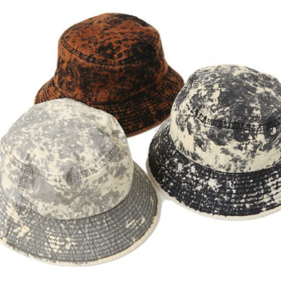 [UNISEX] FLAME BUCKET HAT (3color)