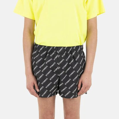 [UNISEX] ALL OVER LOGO SWIM SHORTS