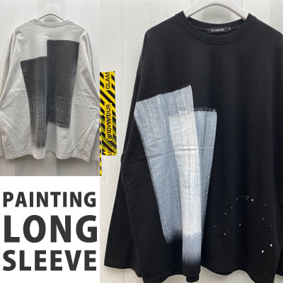 [UNISEX] HAND PAINTING LONG SLEEVE (2color)