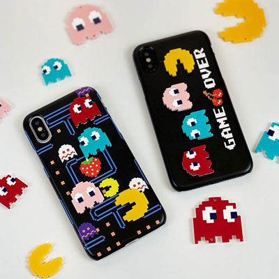 [UNISEX] ACRYLIC PAC-MAN PHONE CASE (2type)