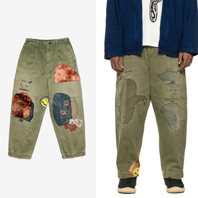 [UNISEX] MULTI PATCH PANTS (2color)