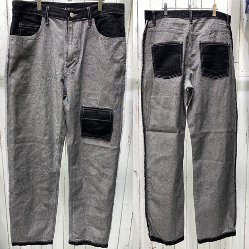 [UNISEX] REVERSE POCKET DENIM (2size)