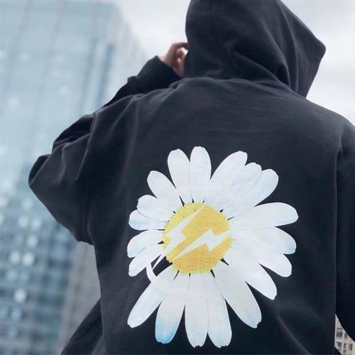 [UNISEX] LIGHTNING FLOWER HOODIE