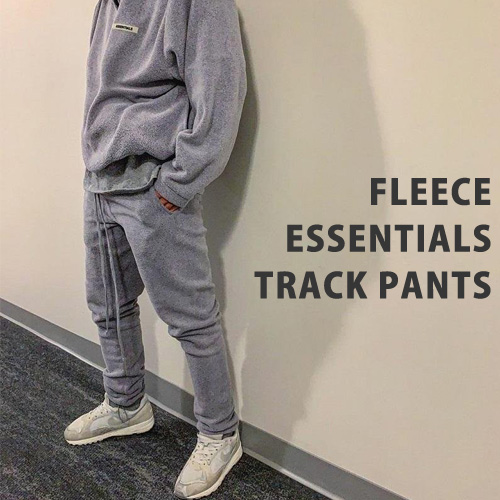 [UNISEX] ESSENTIALS FLEECE TRACK PANTS (5color)