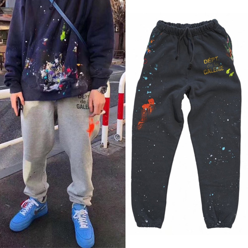 [UNISEX] PAINTING JOGGER PANTS (2color)