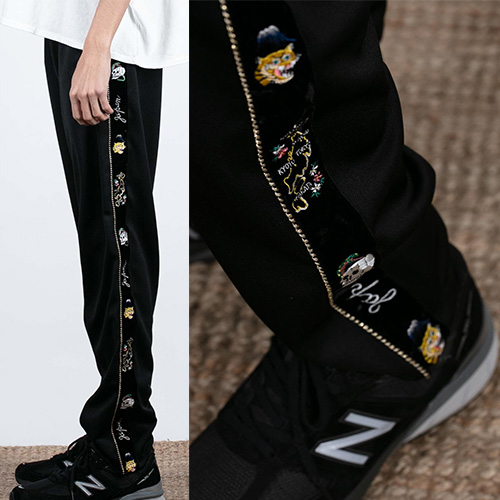 [UNISEX] SKA EMBROIDERY TRACK PANTS