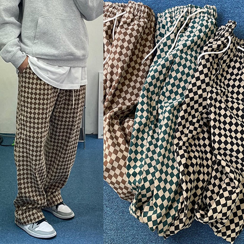 [UNISEX] CHECKER CORDUROY PANTS (3color)