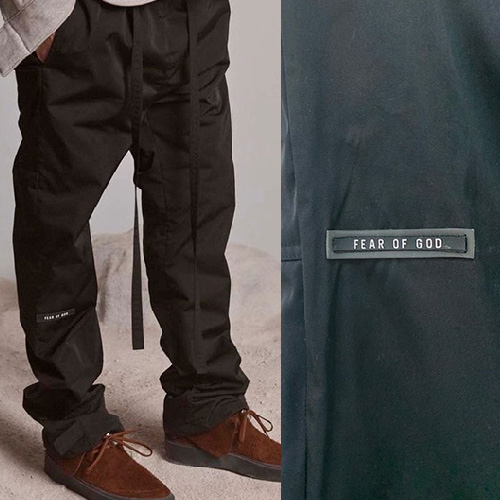 [UNISEX] HEAVY UNDER TAG NYLON PANTS (2color)